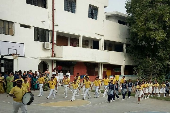 Brahmananda Public School-Sports Day