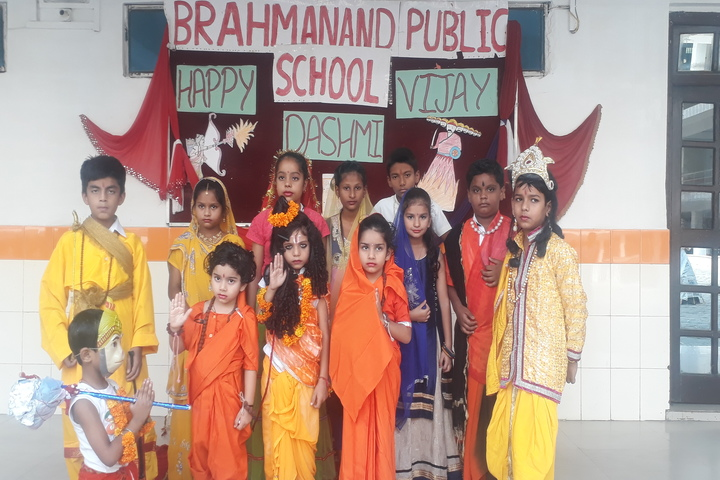 Brahmanand Public School-Vijaya Dashami Celebration By Tiny Toddlers
