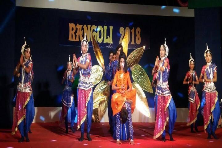 Brainwings Academy-Rangoli Event