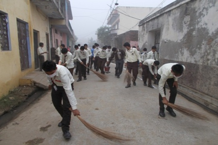 Bright Home Public School-Swachh Bharat