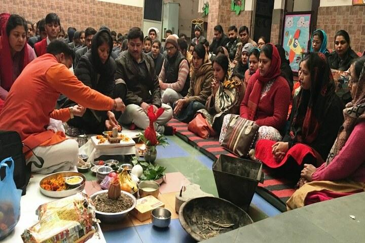 Bright Land School-Hawan Ceremony