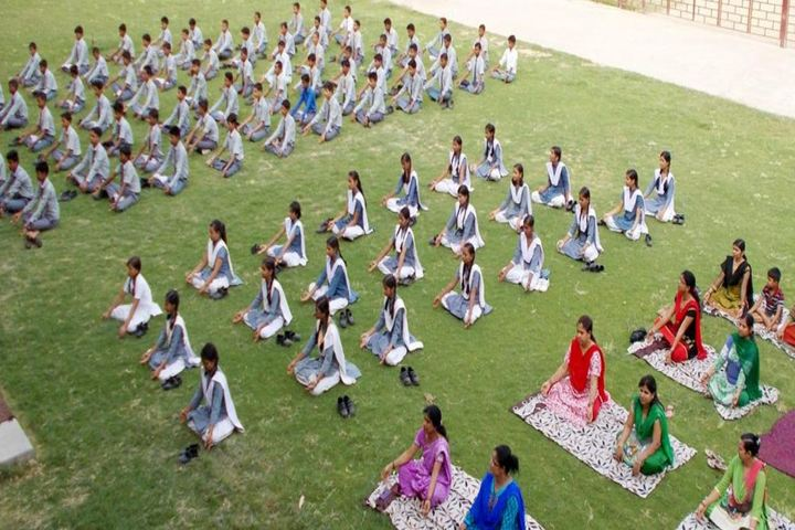 Brij Behari Sahai International School-Yoga Day