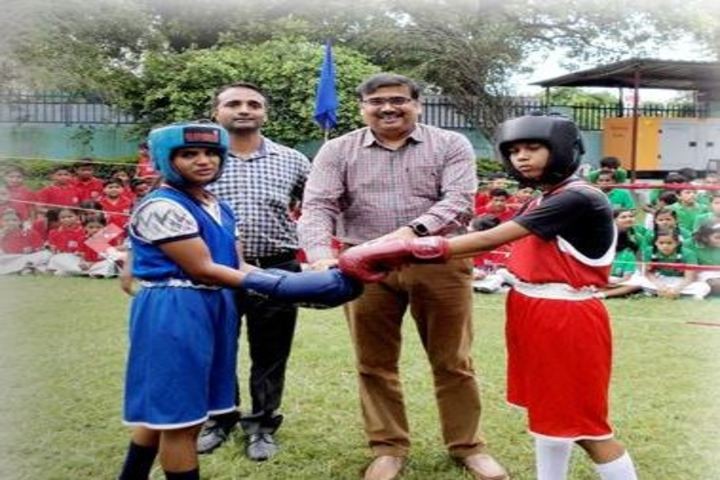 Brij Behari Sahai Vidya Mandir-Boxing