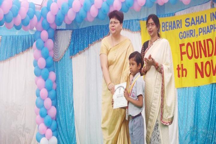 Brij Behari Sahai Vidya Mandir-Foundation Day