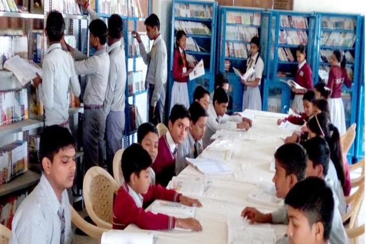 Brij Behari Sahai Vidya Mandir-Library