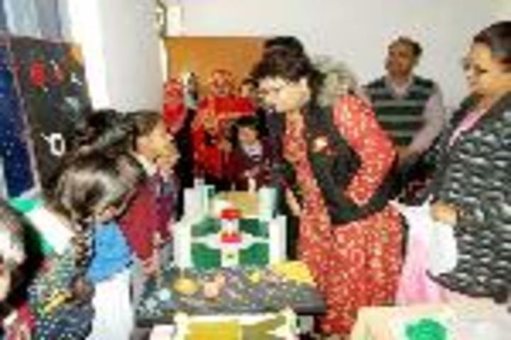 Brij Behari Sahai Vidya Mandir-Science Exhibition