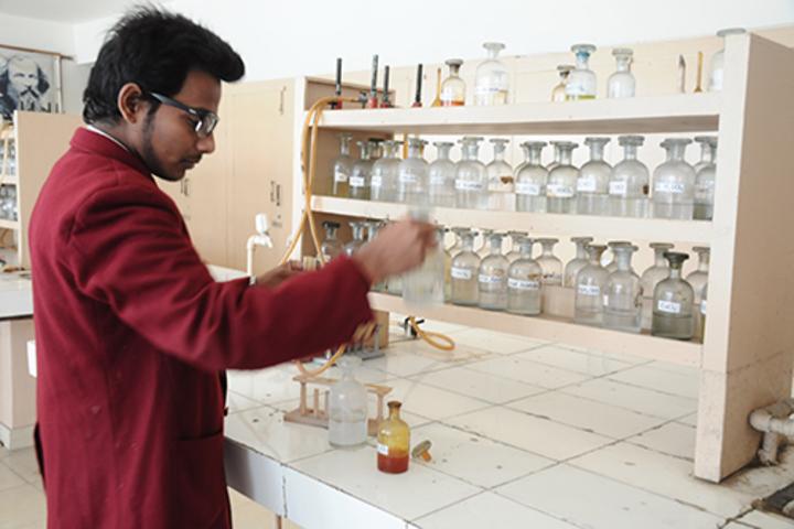 Brij Bhushan Lal Public School-Chemistry lab