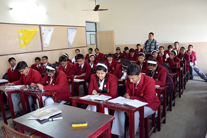 Brij Bhushan Lal Public School-Class Room
