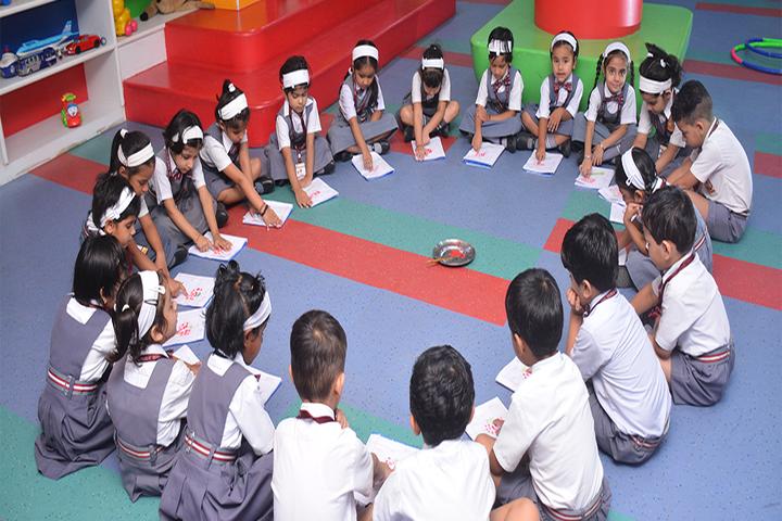 Brij Bhushan Lal Public School-Colouring