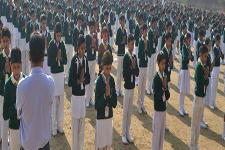 Brij Dham Vidya Mandir-Prayer