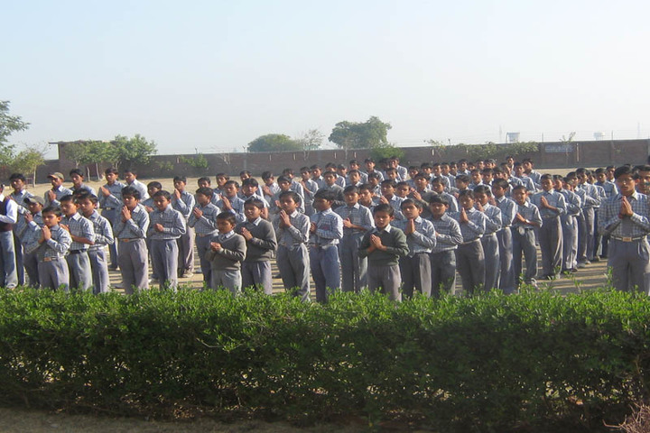 Brij Kunwar Devi Aldrich Public School-Assembly