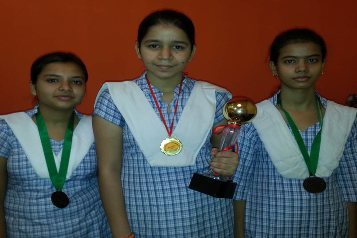 Brij Kunwar Devi Aldrich Public School-Awards