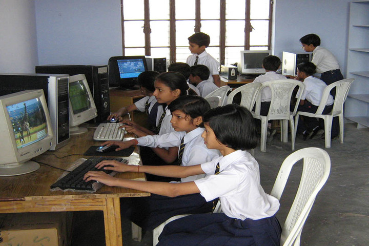 Brij Kunwar Devi Aldrich Public School-Computer Lab