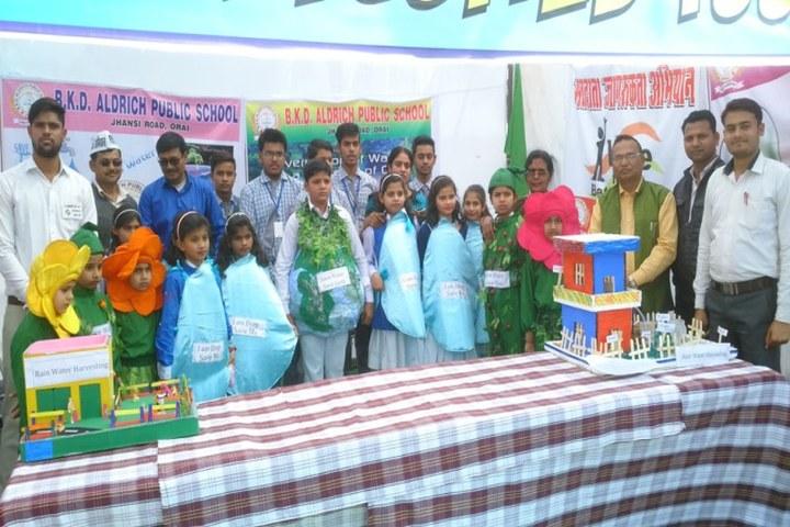 Brij Kunwar Devi Aldrich Public School-Earth Day