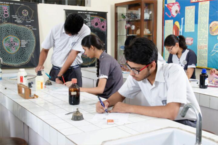 Brij Nandani Convent School-Biology Lab
