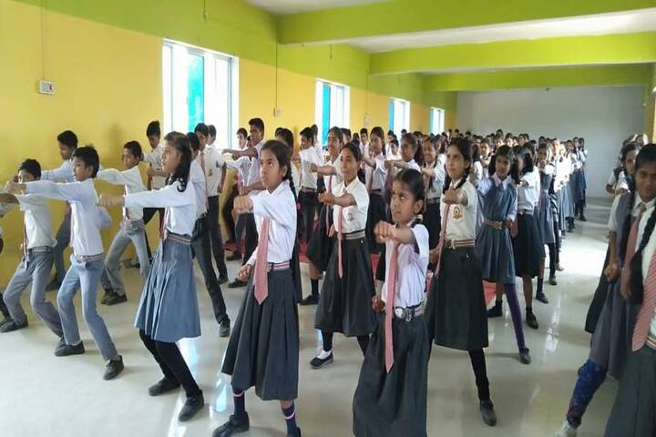 Brijnandani Convent School-Karate