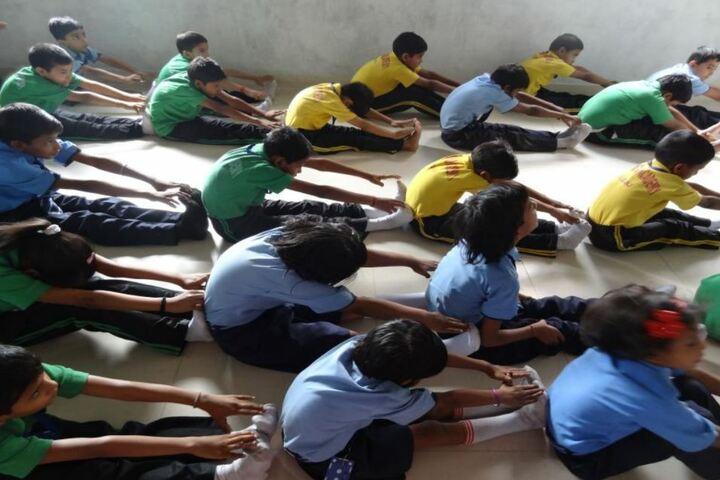 Brio World Academy-Yoga Day