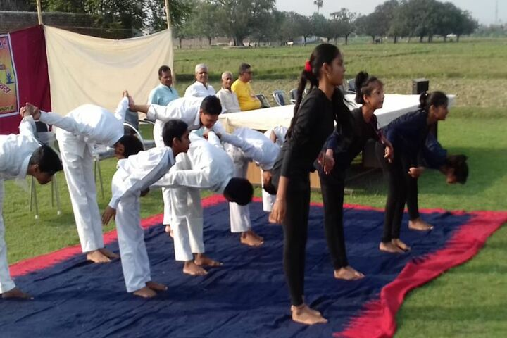 Saraswati Vidya Mandir-Yoga Day