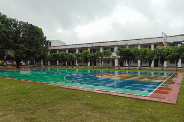 Buddha Public School-Basket Ball Ground