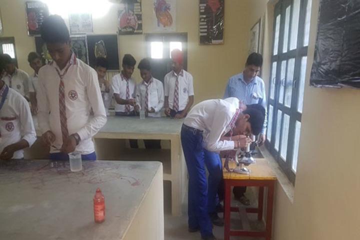 Buddha Public School-Biology Lab