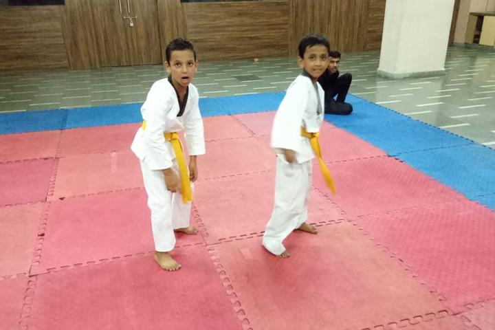 Buddha Public School-Karate