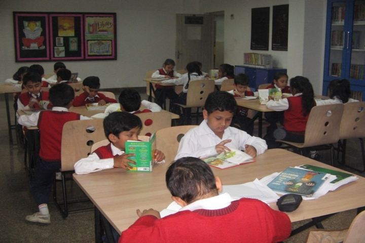 C L Gupta World School-Library