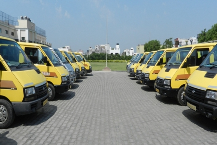 C L Gupta World School-School Buses