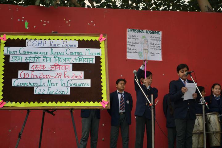 C S H P Public School-Helath Awareness