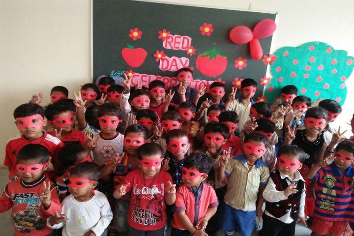 C L M Public School-Red Day