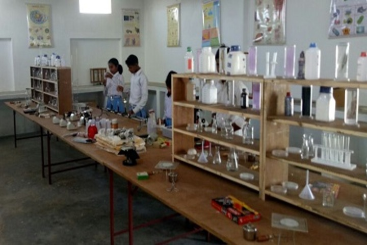 C M G Publice School-Science Lab