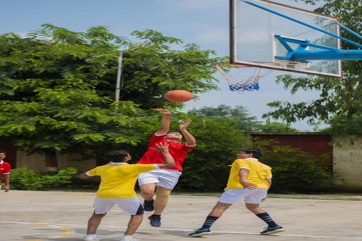 C P International School-Basket Ball Court