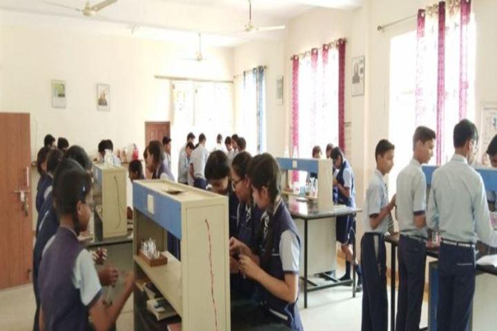 C P International School-Chemistry Lab