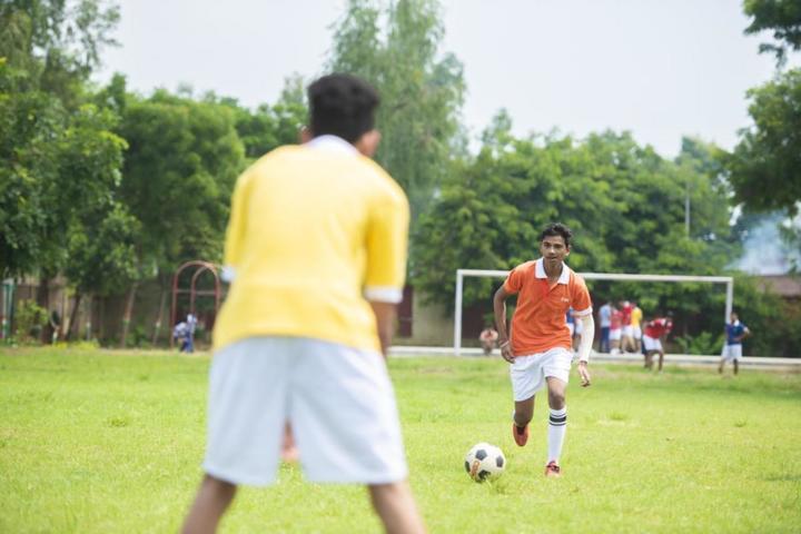 C P International School-Foot Ball Court
