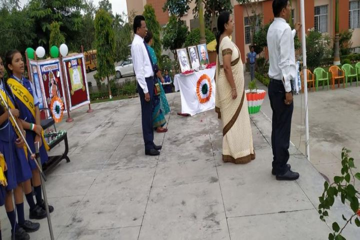 C P International School-Independence Day