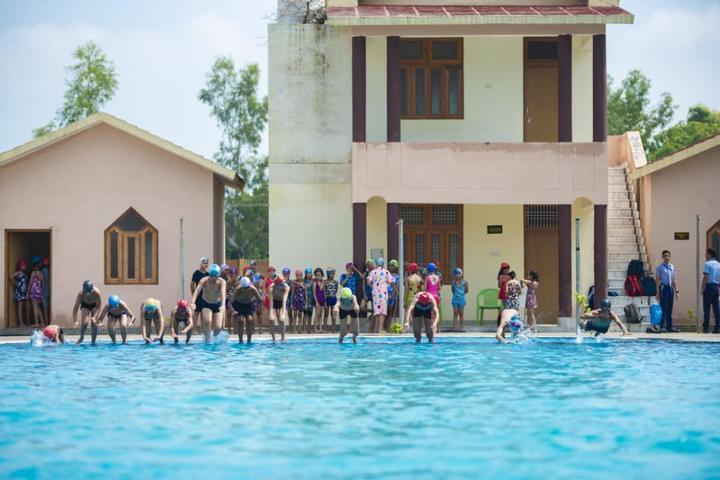 C P International School-Swimming Pool
