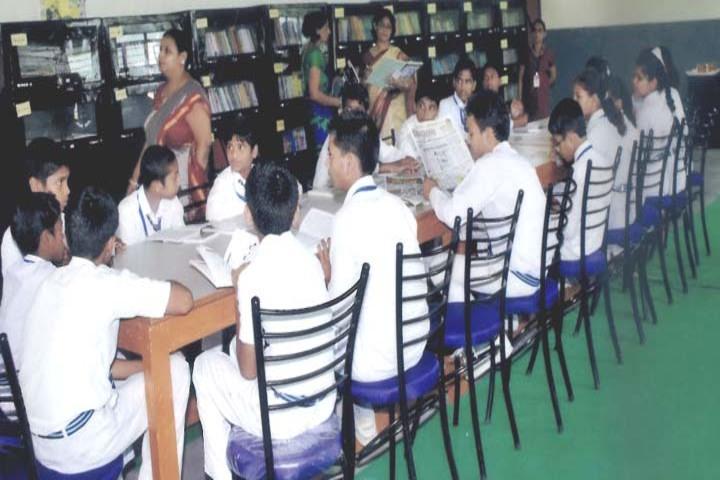 C P S Public School-Library