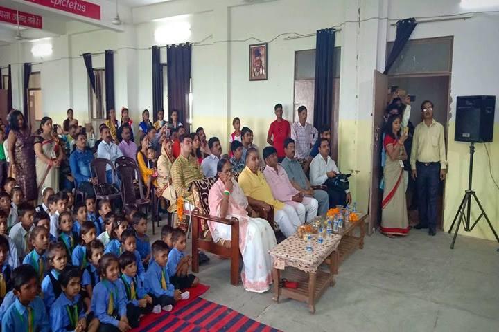 C V International School-Assembly