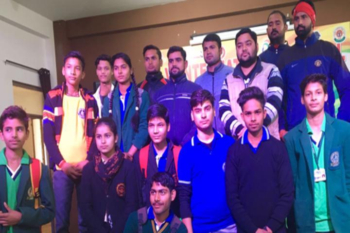 C V International School-Chatra Sansad Investiture