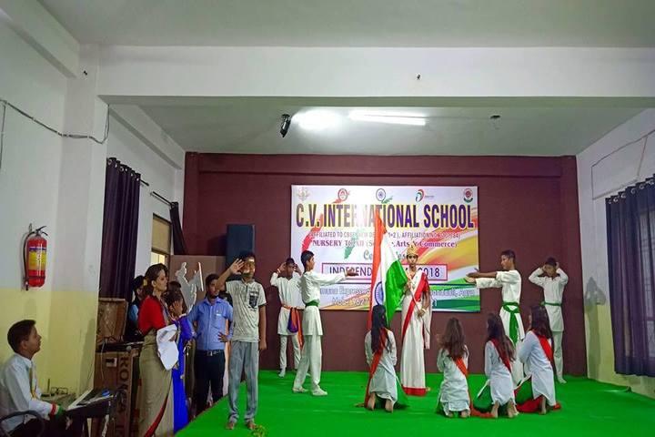 C V International School-Independence Day