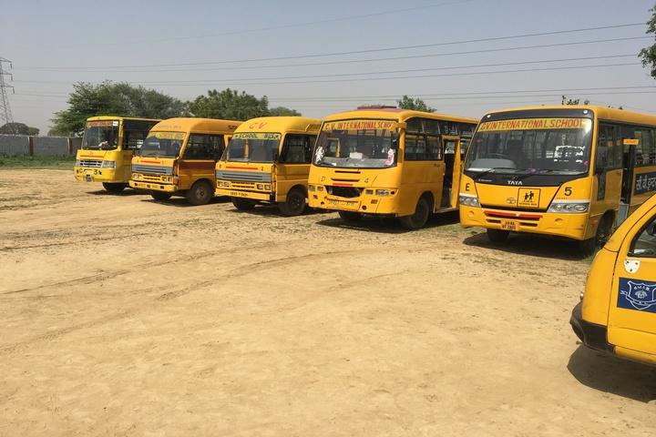 C V International School-School Buses