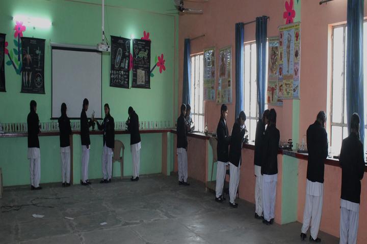 C V International School-Science Lab