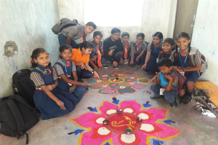 Cambridge International School-Rangoli