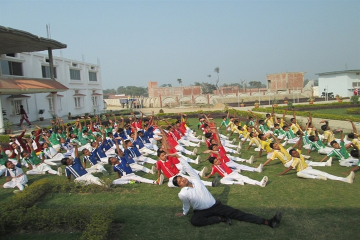 Cambridge International School-Yoga Day