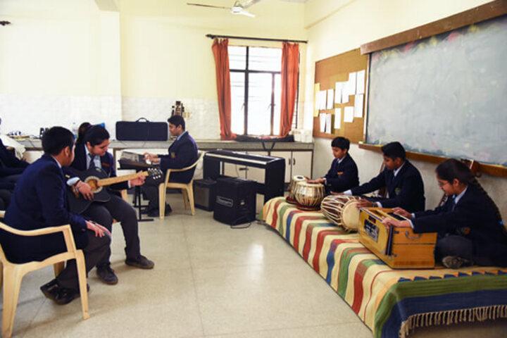 Cambridge School-Music Room
