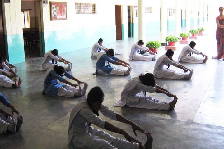 Canossa School-Yoga Day