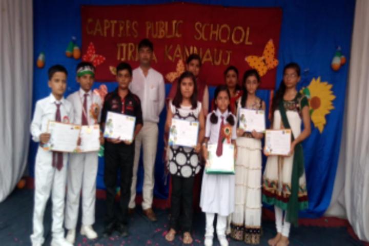 Capt B P S Public School-Achievements