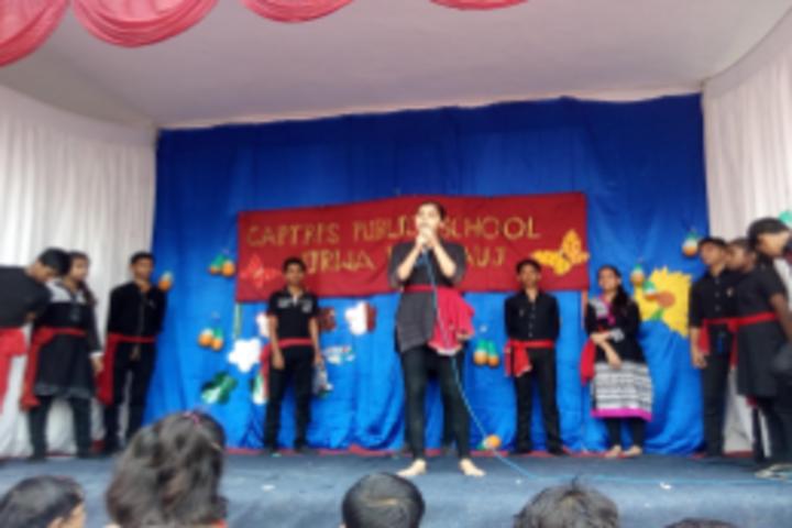 Capt B P S Public School-Singing
