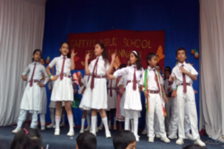 Capt B P S Public School-Independence Day