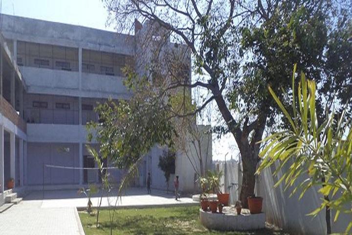 Capt B P S Public School-Inside Campus