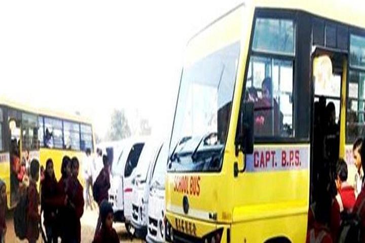 Capt B P S Public School-Transport